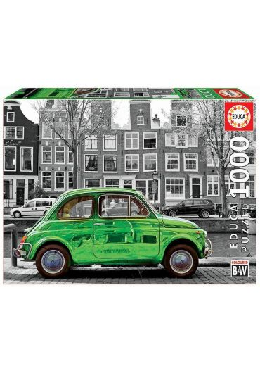 Puzzle 1000 piese Car in Amsterdam
