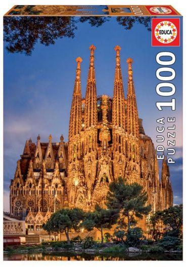 Puzzle 1000 piese Sagrada Familia