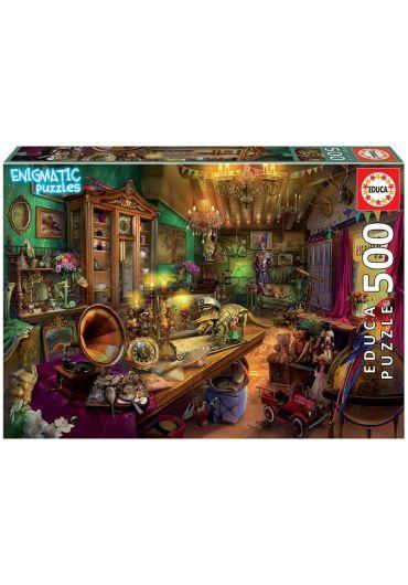 Puzzle 500 piese Enigmatic Antic Attic