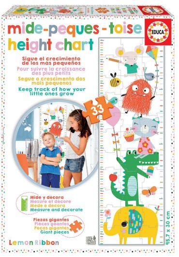 Puzzle 33 piese Growth Chart Lemon Ribbon