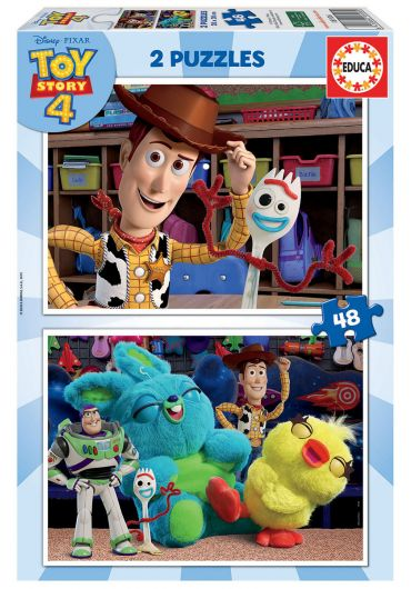 Puzzle 2 in 1  (48+48 piese) Toy Story 4