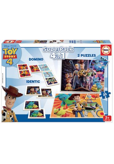 Puzzle Superpack 4 in 1 Toy Story 4