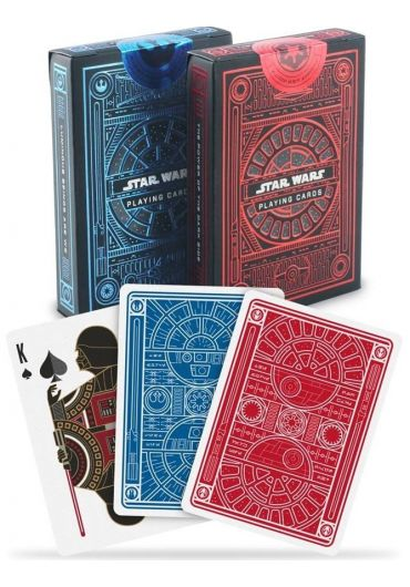Carti de joc Bicycle Star Wars rosu/albastru