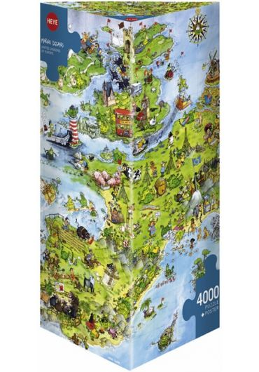 Puzzle 4000 piese United Dragon