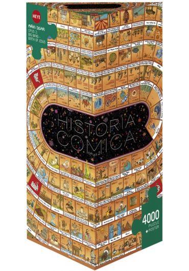 Puzzle 4000 piese Historia Comica 2