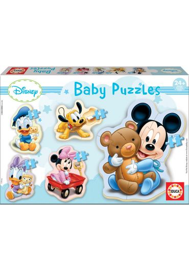 Puzzle 5 in 1 (3+4+4+5+4 piese) Baby Mickey