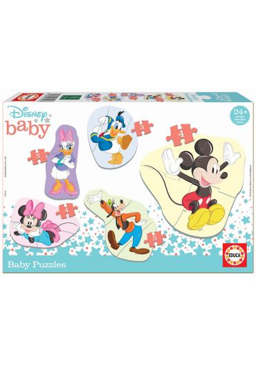 Puzzle 5 in 1 (5+3+4+3+4 piese) Baby Mickey & Friends