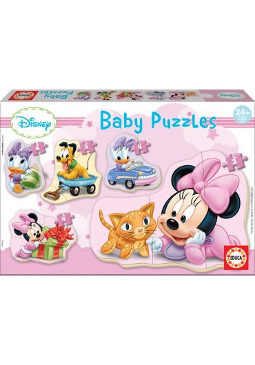 Puzzle 5 in 1 (4+5+4+4+3 piese) Baby Minnie