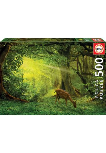 Puzzle 500 piese Little Deer