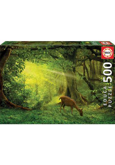 Puzzle 500 piese Little Deer