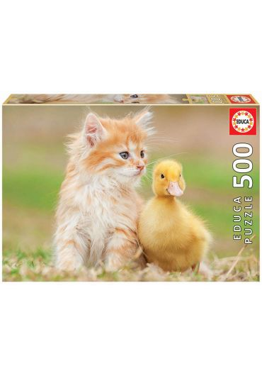 Puzzle 500 piese Adorable Friends