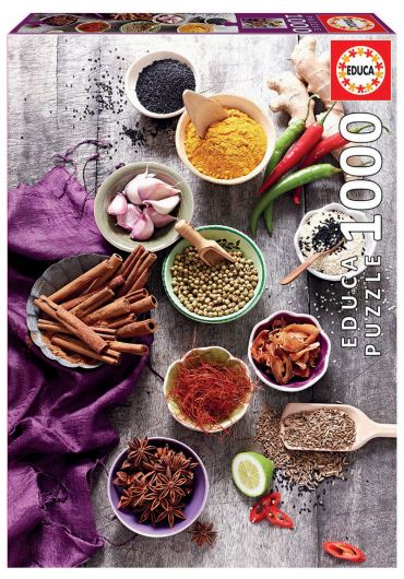 Puzzle 1000 piese Assorted Spices