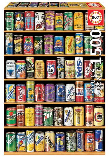 Puzzle 1500 piese Cans