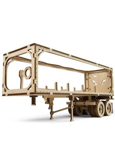 Puzzle 3D lemn - Remorca pentru camion VM-03