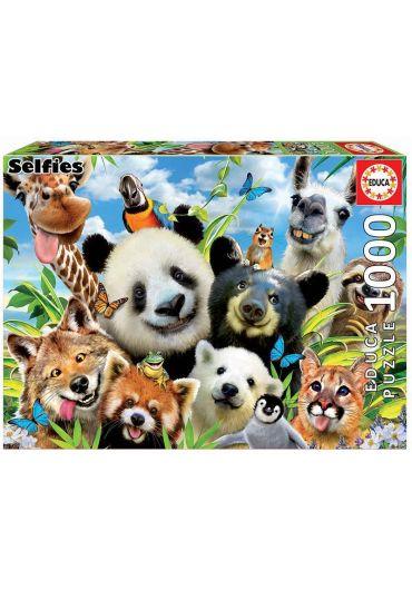Puzzle 1000 piese Llama Drama Selfie
