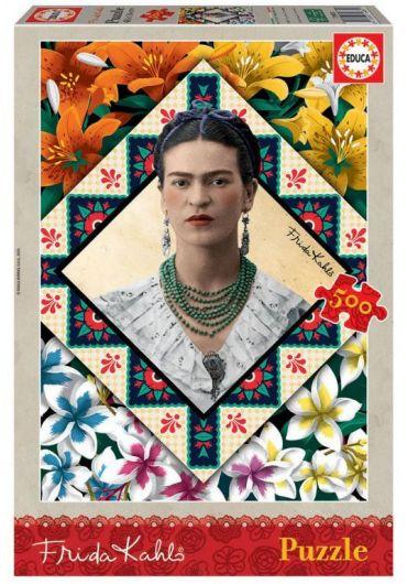 Puzzle 500 piese Frida Kahlo
