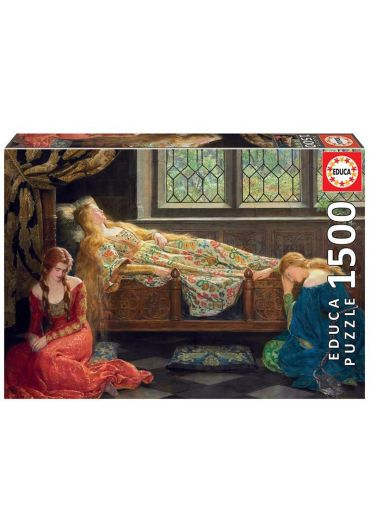 Puzzle 1500 piese The Sleeping Beauty, John Collier