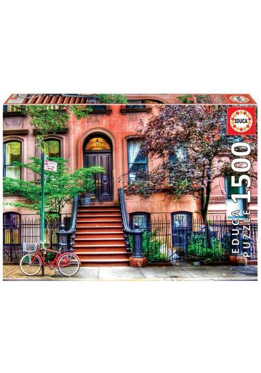 Puzzle 1500 piese Greenwitch Village, New York