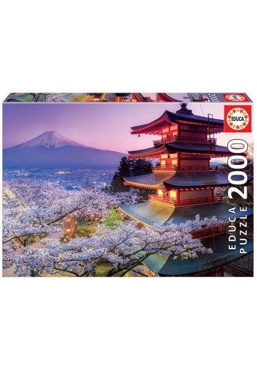 Puzzle 2000 piese Mount Fuji, Japan