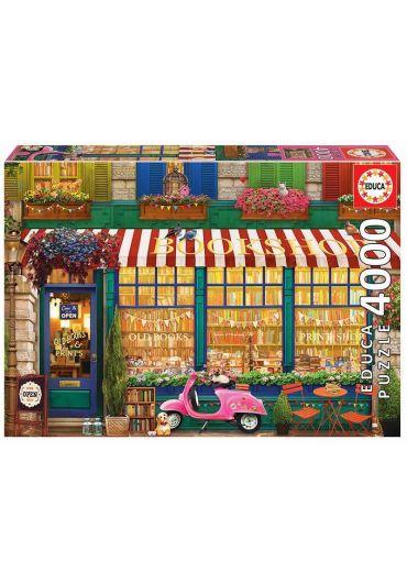 Puzzle 4000 piese Vintage Bookshop