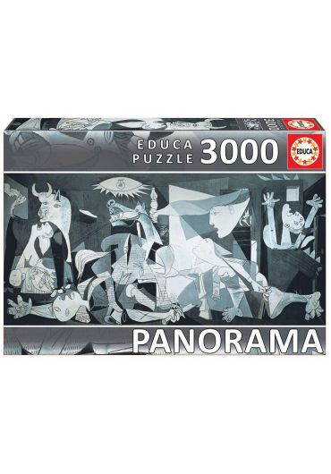 Puzzle Panoramic 3000 piese Guernica, P. Picasso