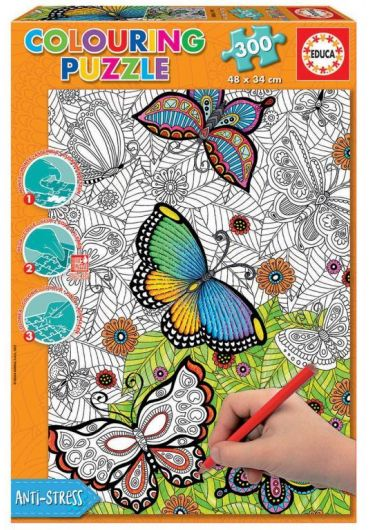 Puzzle 300 piese Colouring All Good Things are Wild and Free