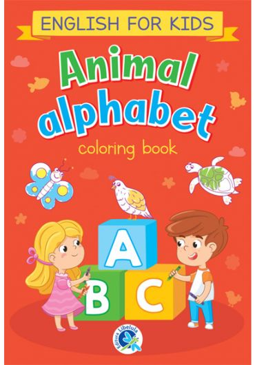 Animal alphabet. English for kids