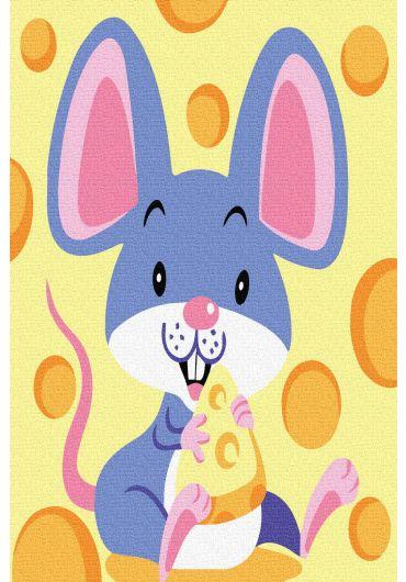 Set Picturi pe numere, Acuarello, 20X30 cm - Happy Mouse