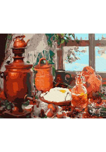 Set Picturi pe numere, Acuarello, 40X50 cm - Rustic