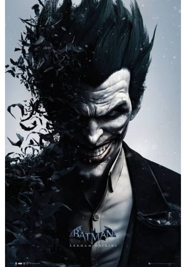 Poster - Batman Origins - Joker Bats