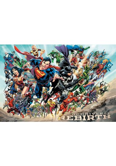 Poster - DC Comics - Rebirth