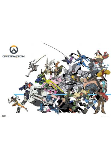 Poster - Overwatch - Battle
