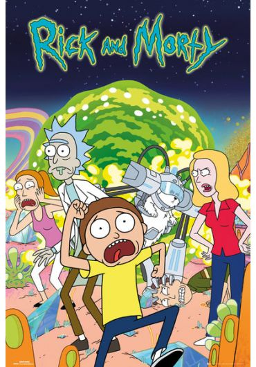 Poster - Rick and Morty Group