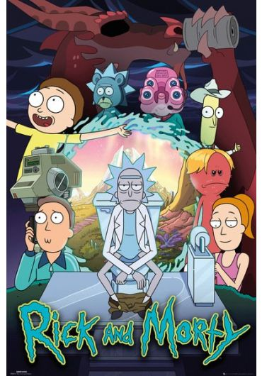 Poster - Rick & Morty Season 4