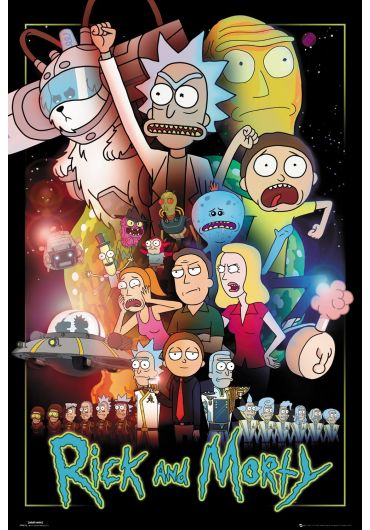 Poster - Rick and Morty