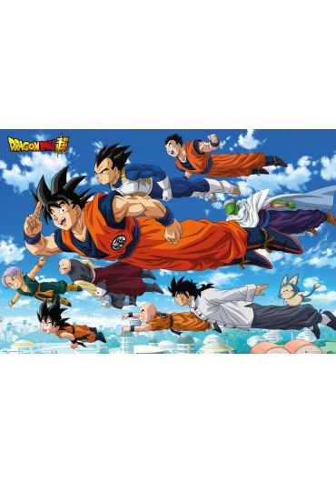 Poster - Dragon Ball Z - Super Flying
