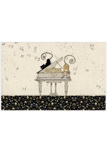 Suport pentru masa - Chats Touche Piano