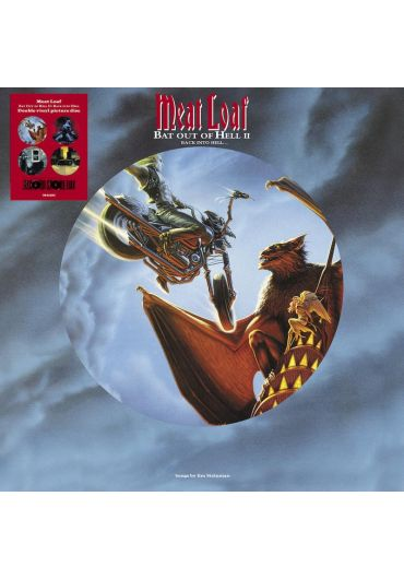 Meat Loaf - Bat Out Of Hell II, Back Into Hell, LP