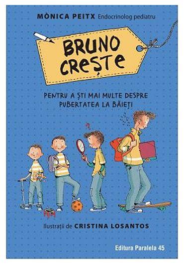 Bruno creste. Pentru a sti mai multe despre pubertatea la baieti