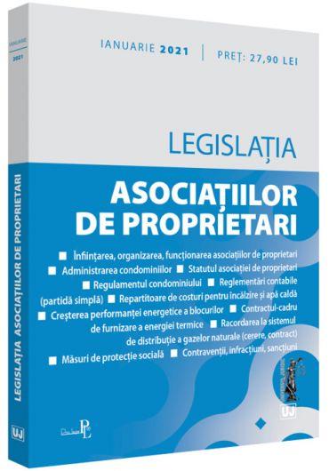 Legislatia asociatiilor de proprietari. Ianuarie 2021