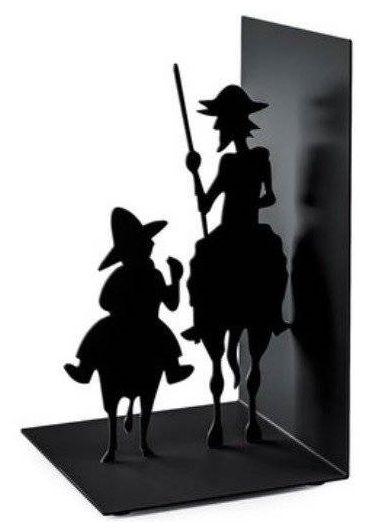 Suport lateral pentru carti - Don Quijote Black