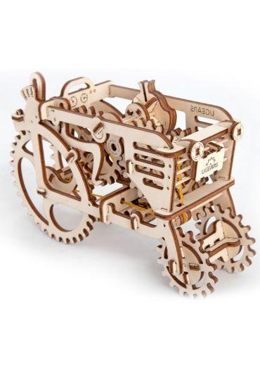 Puzzle 3D lemn - Tractor