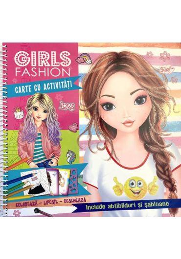 Girls Fashion. Carte cu activitati