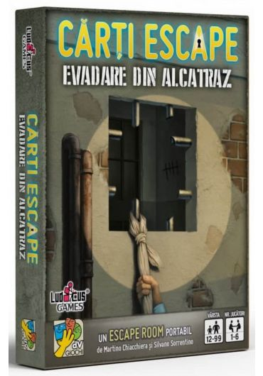 Carti Escape - Evadare din Alcatraz