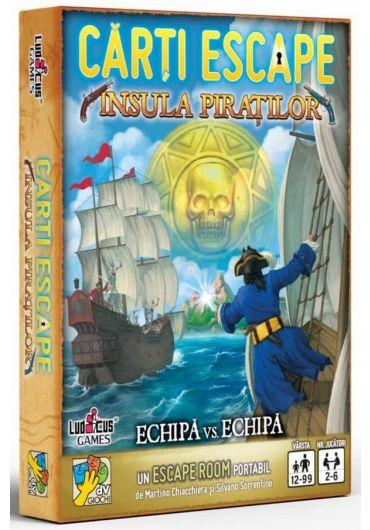 Carti Escape - Insula piratilor