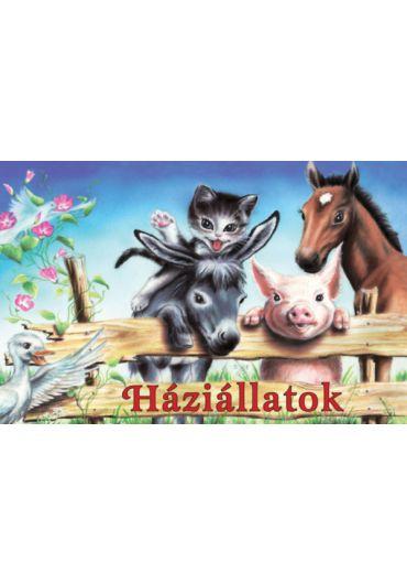 Animale domestice - pliant. HU