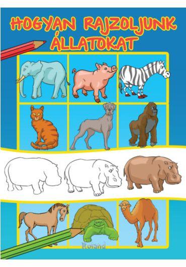 Cum sa desenam animalele - HU