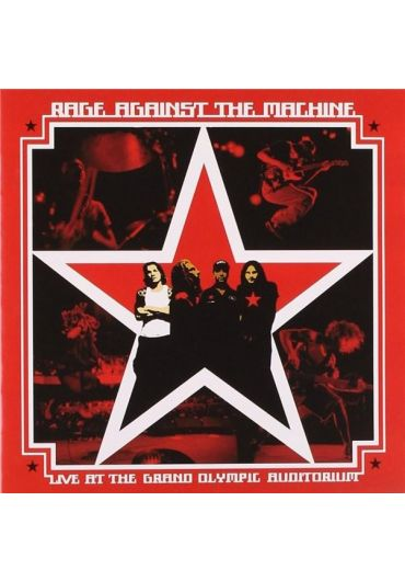 Rage Against The Machine - Live At The Grand Olympic Auditorium CD