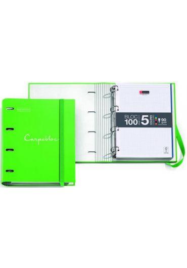 Caiet mecanic A4 cu 100 file matematica Emotions Green
