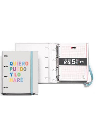 Caiet mecanic A4 cu 100 file matematica Hello
